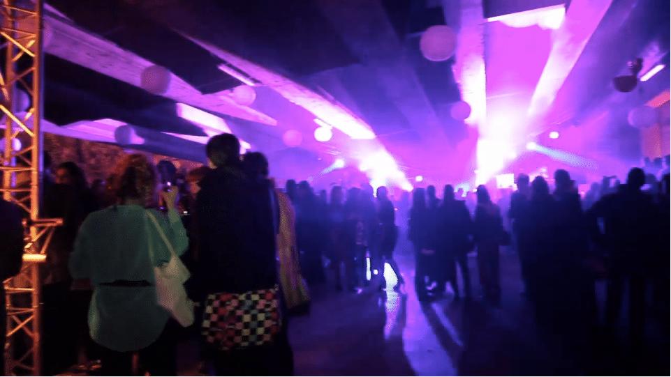 A public party in a secret hangar : The Conspiracy event