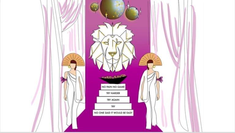 animation tete de lion pretresses rough evenementiel