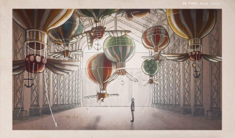 dessin hangar y mongolfieres fantastiques meudon rough evenementiel