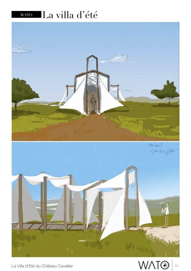 dessin structure evenementiel voiles