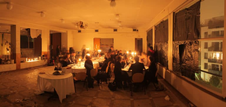 diner insolite maison hantée urbex exploration urbaine ancienne Ecole Normal Sup Saint Cloud ENS The Haunted School Dinner agence wato we are the oracle evenementiel events