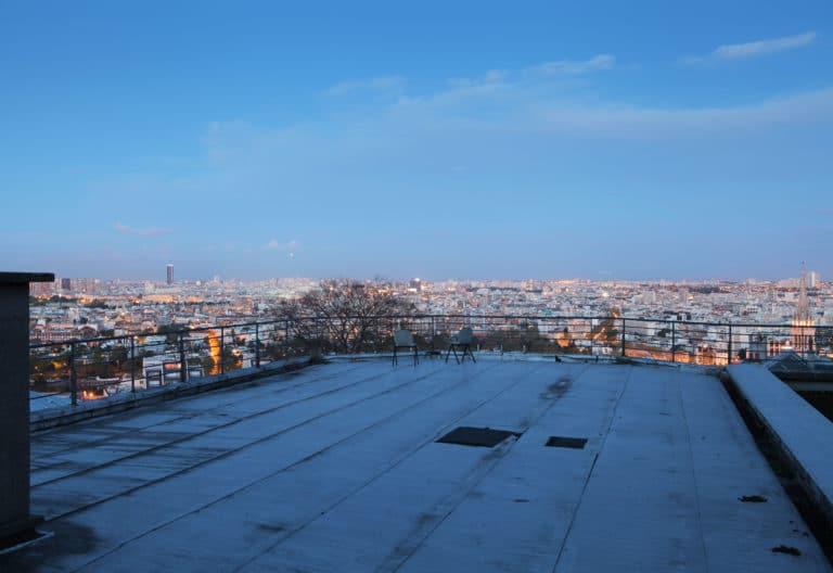 urbex vue du rooftop ENS saint cloud