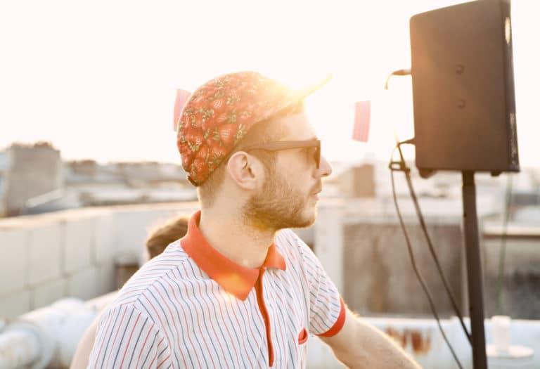 aubry music dj coucher de soleil rooftop party 14 juillet paris