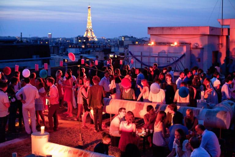 rooftop project vue imprenable tour eiffel toit ancien hopital Saint-Michel urbex thème fête nationale 14 juillet 2013 agence wato we are the oracle evenementiel events