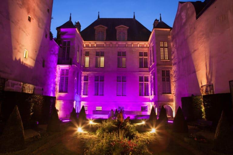éclairage-événementiel-jardin-Musée-Cognacq-Jay-Paris-France-diner-volants-My-little-Paris-agence-wato-we-are-the-oracle-evenementiel-event