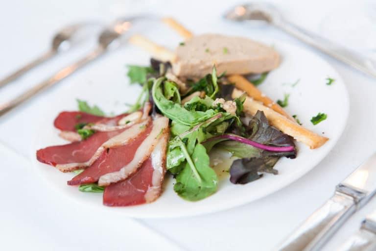 foie gras magret de canard gressins traiteur food diner underwater 1 agence wato we are the oracle evenementiel events