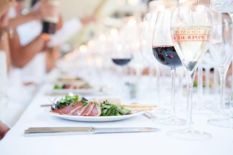 foie gras magret de canard gressins traiteur food diner underwater 1 piscine pailleron agence wato we are the oracle evenementiel events