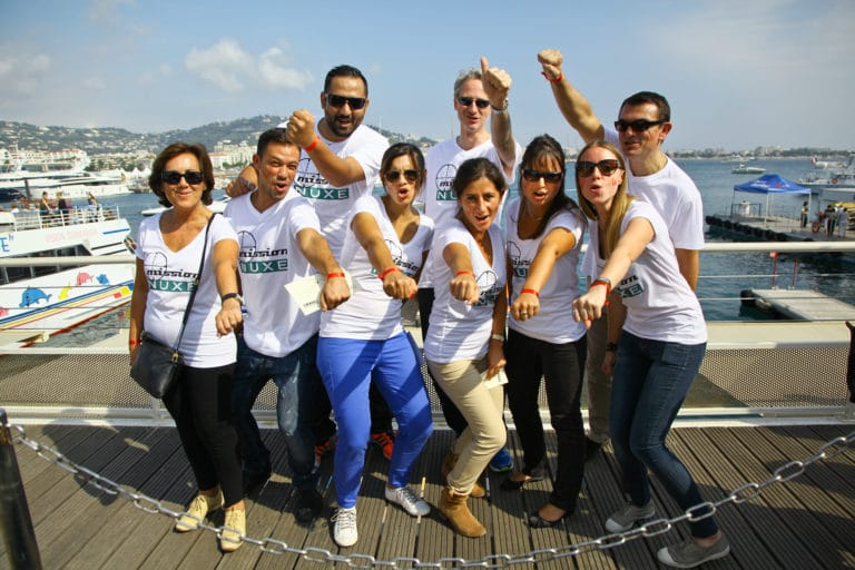 incentive cannes groupe tshirt personnalise