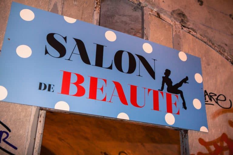 brandinng salon de beauté Abri Lefebvre abri anti atomique paris 15 e arrondissement France Victorious Shelter agence wato we are the oracle evenementiel events