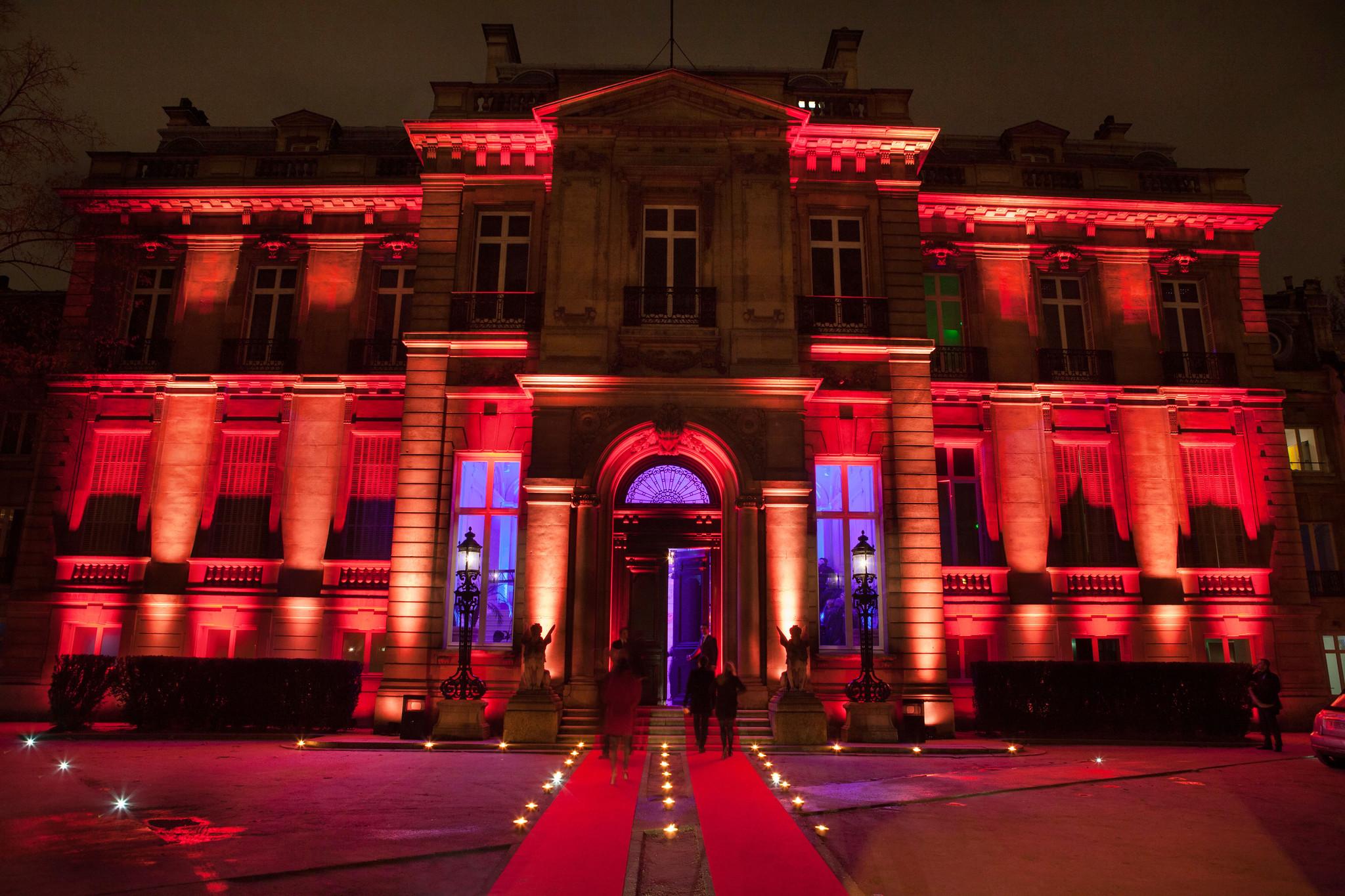 Remise de décoration Patrick Wajsman à l'hôtel Salomon de Rothschild