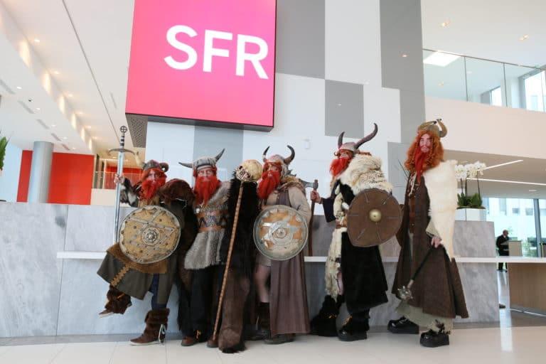 SFR vikings brand content red de sfr journees guerrieres