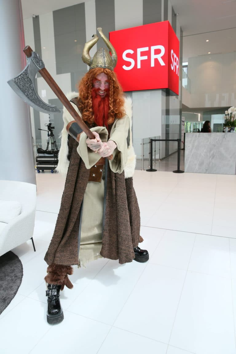 vikings brand content sfr journees guerrieres