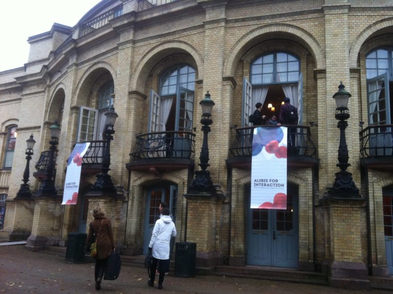 Landskrona theater Alibis for interaction 2014 conference