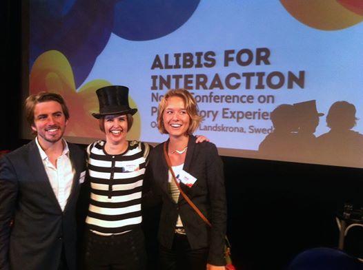 Rebecka Ericksson Alibis for Interaction 2014 conference WATO suède