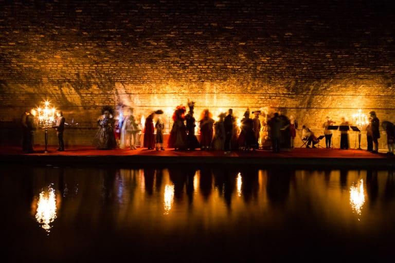 tournage mysterieux dans un canal souterrain voute richard lenoir venise sous paris agence wato we are the oracle