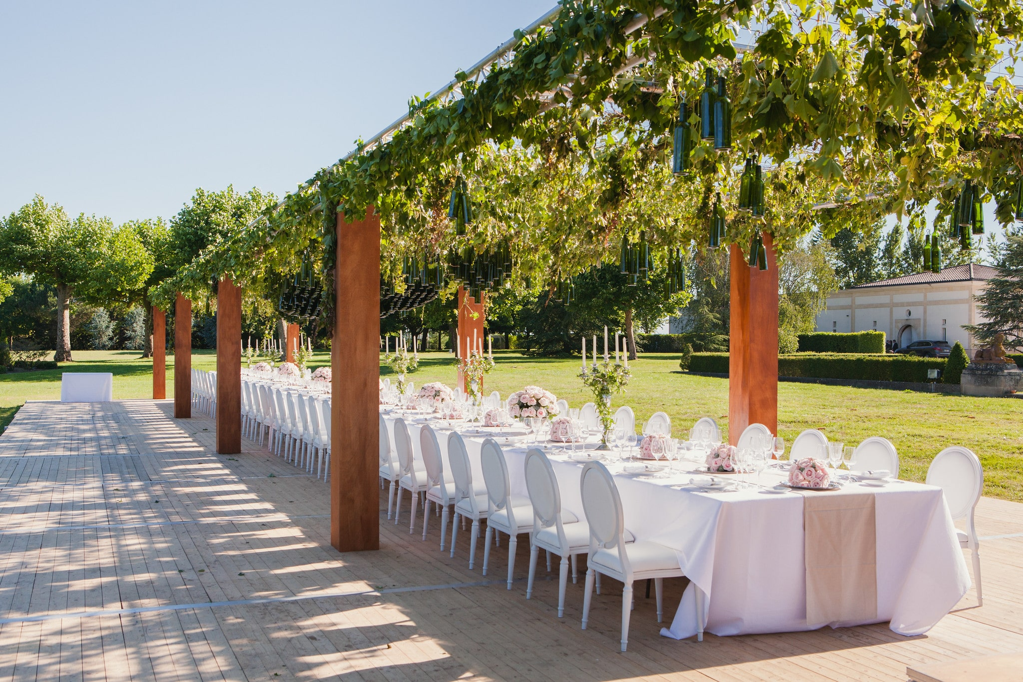 The Canopy Castel: An exceptional dinner in a Castle in Bordeaux