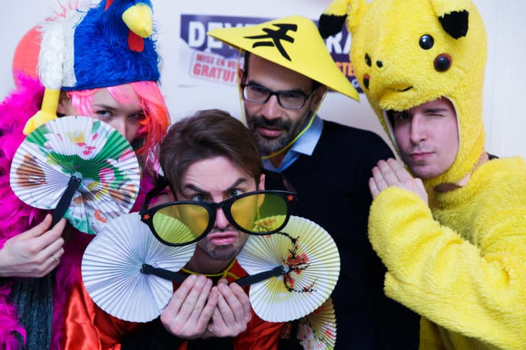 Foulques Jubert costumes japon ancien bureaux abandonnés 15 ans Price Minister Rakuten agence wato we are the oracle evenementiel events