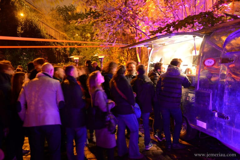 eat the rood food truck traiteur food loft paolo calia les frigos lancement ue boom agence wato we are the oracle evenementiel events