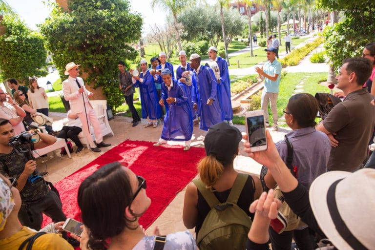 Musiciens-traditionnels-organisation-seminaire-a-marrakech-wato we are the oracle evenementiel events