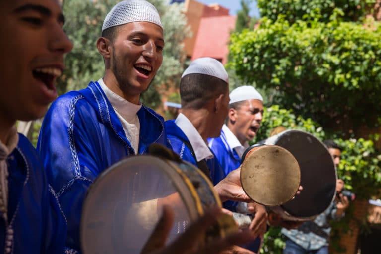 Musiciens-traditionnels-palais-soleiman-organisation-seminaire-a-marrakech-wato we are the oracle evenementiel