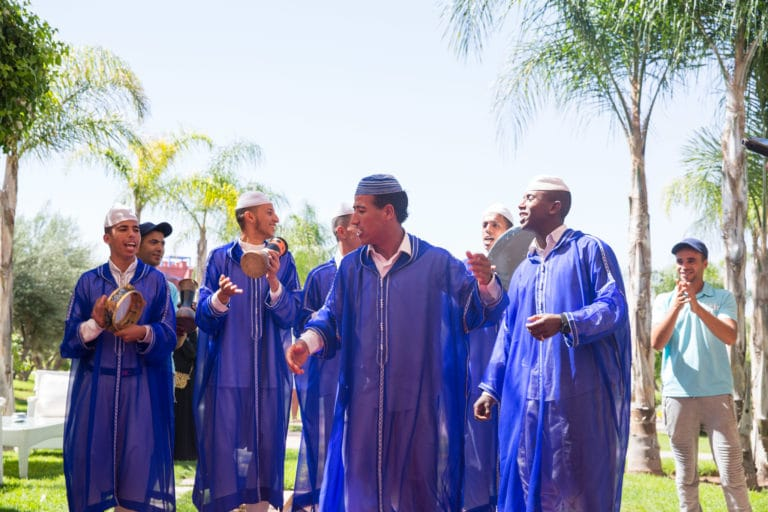 Musiciens-traditionnels-palais-soleiman-organisation-seminaire-a-marrakech-wato we are the oracle evenementiel events