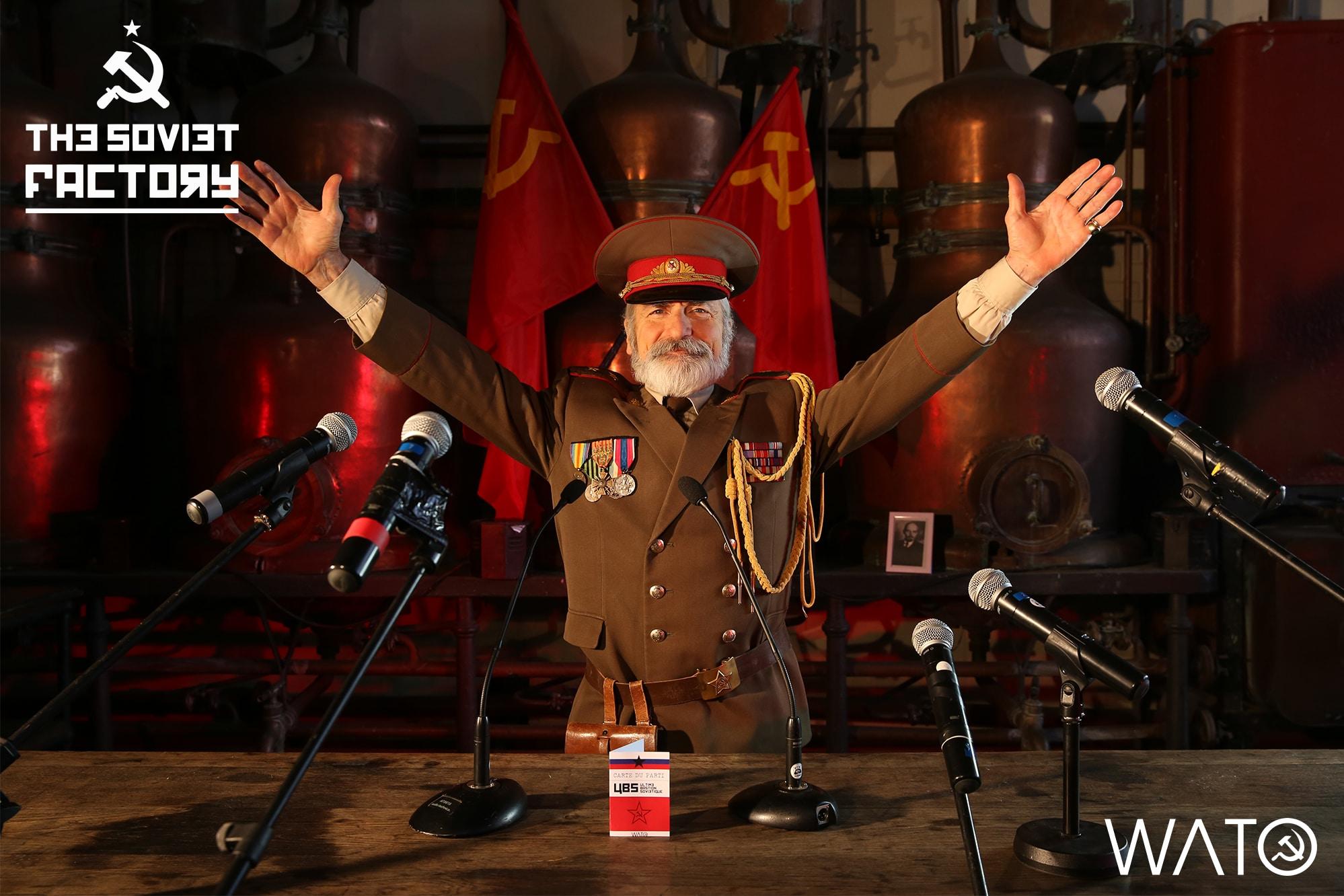 WATO : Teaser sur le thème sovétique – The Soviet Factory