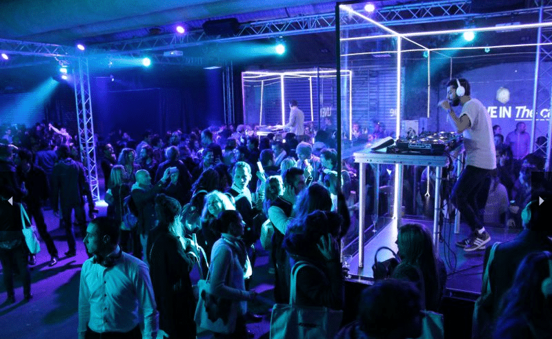 Bose : Product launch party in an underground venue in Paris