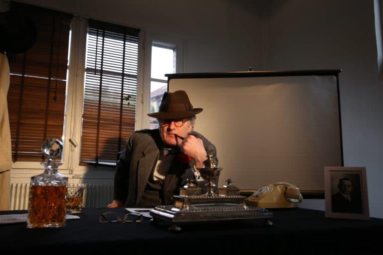 Cyrille Jubert acteur whisky bureau Espace Claquessin ancienne usine du XIX malakoff teaser production de video the soviet factory agence wato we are the oracle evenementiel event