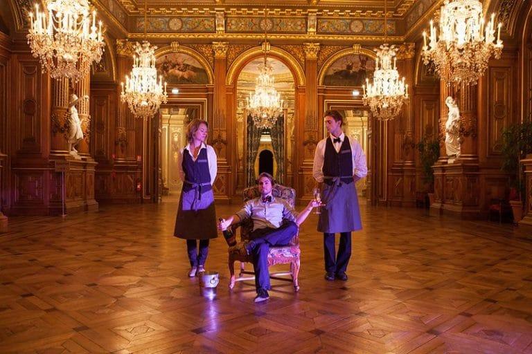 Foulques Jubert Iris de Rode salon Hotel de ville de Paris France diner volants My Little Paris x Mairie de Paris agence wato we are the oracle evenementiel events