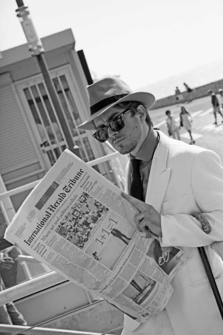 Foulques Jubert acteur Félix espion renseignements vieux port de Cannes france seminaire exceptionnel a Cannes Nuxe agence wato we are the oracle evenementiel events