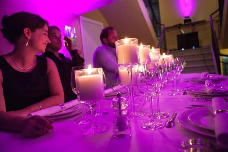 Matthieu Housse chef diner aux chandelles Piscine Pailleron Espace Sportif Pailleron Paris France diner volants My Little Paris agence wato we are the oracle evnementiel events
