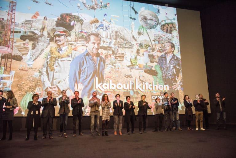 projection avant premiere cinema pathe beaugrenelle paris lancement de produit serie kaboul kitchen saison 3 canal + agence wato we are the oracle evenementiel events