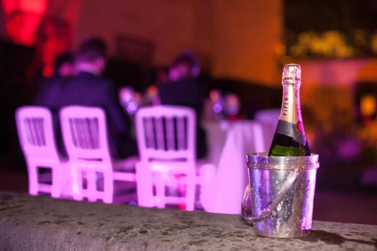 champagne diner chef Matthieu Housse Musée Cognacq Jay Paris France diner volants My little Paris agence wato we are the oracle evenementiel events
