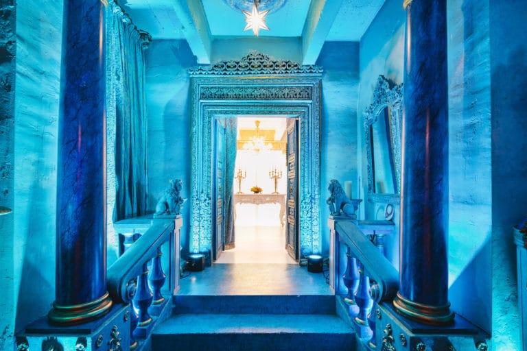 colonnes decor exceptionnel loft baroque paolo calia anniversaire milliardaire indien agence wato we are the oracle evenementiel events