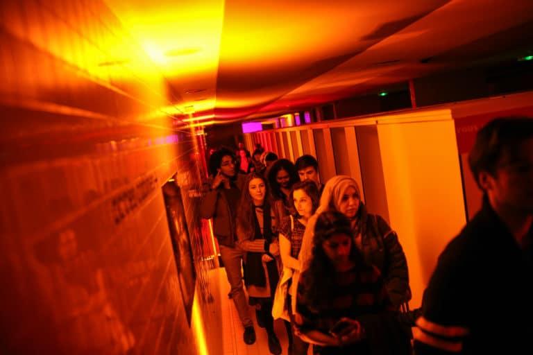exposition retrospective espace pailleron 10 ans scenographie sur mesure soiree exceptionelle 10 ans espace sportif pailleron ucpa agence wato we are the oracle evenementiel events