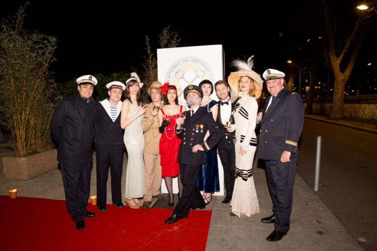 foulques jubert commandant iris de rode paquebot titanic paris france evenement sur mesure gala annuel les clefs d or agence wato we are the oracle evenementielle