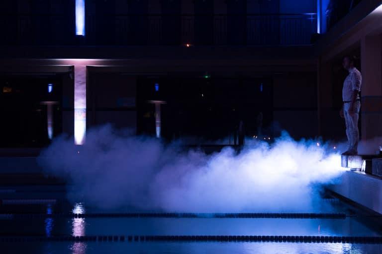 foulques jubert fumée plongeoir piscine pailleron espace sportif pailleron teaser underwater 3 agence wato we are the oracle evenementiel events