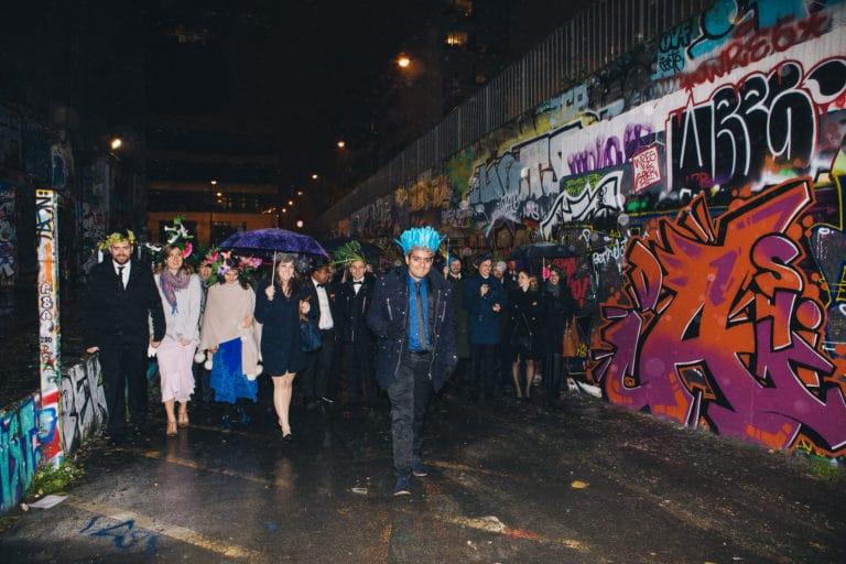 graffiti invités coiffes les frigos paris anniversaire milliardaire indien agence wato we are the oracle evenementiel events