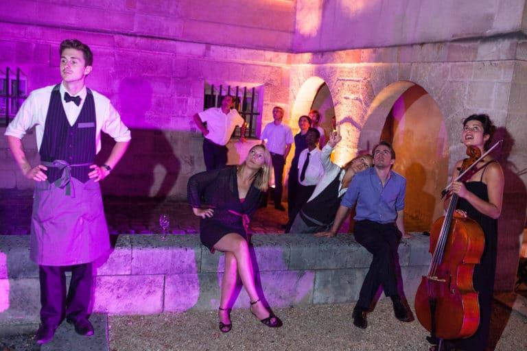 incendi surprise pompier Musée Cognacq Jay Paris France diner volants My little Paris agence wato we are the oracle evenementiel events
