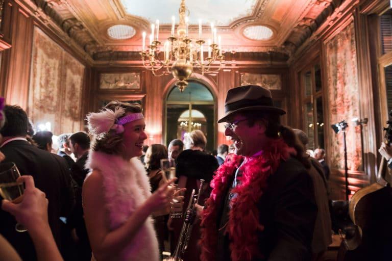 iris de rode hotel particulier paris hotel Salomon de Rothchild paris 8 france padam padam soirée des années 20 agence evenementielle wato we are the oracle events