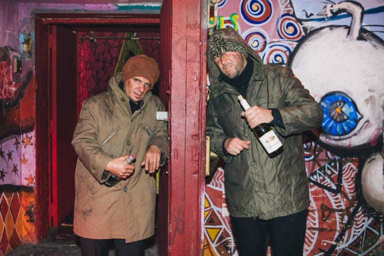 ivrognes clochards acteurs graffitis entree loft baroque paolo calia anniversaire milliardaire indien agence wato we are the oracle evenementiel events