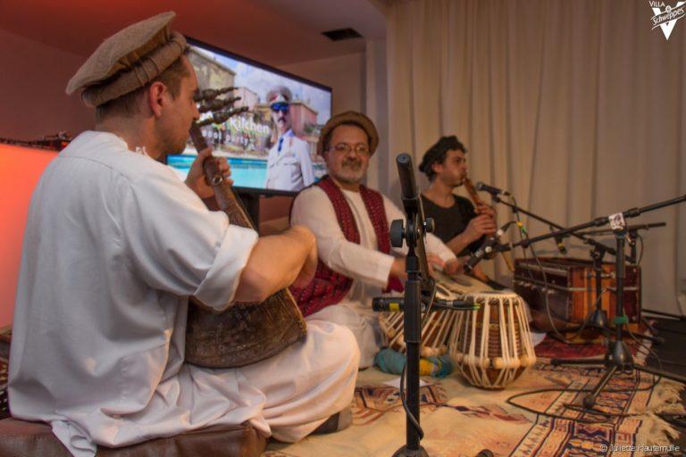 musique traditionnel afghane paris france soiree de lancement de produit serie kaboul kitchen saison 3 canal + agence wato we are the oracle events