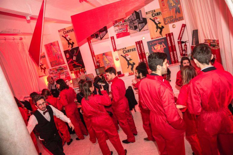 loft baroque paolo calia paris les frigos paris france evenement corporate campari secret factory agence wato we are the oracle evenementiel events