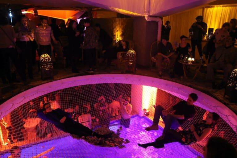 loft piscine paris 15 loft ps one paris france soiree de lancement de produit serie kaboul kitchen saison 3 canal + agence wato we are the oracle events