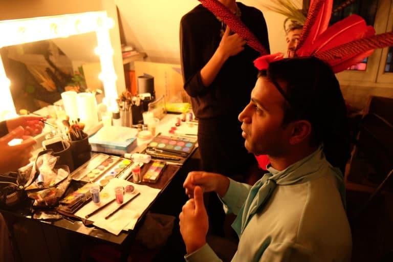 makeup make up invités coiffes preparation anniversaire milliardaire indien agence wato we are the oracle evenementiel events