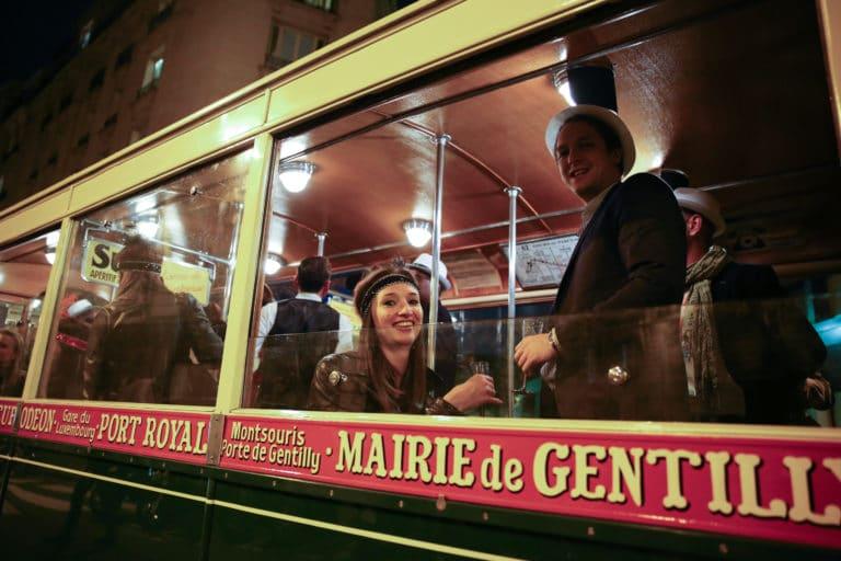 bus de collection ancien bus tn4 des années 30 insolite transport ancien porte de versailles soirée corporate voyage prive agence wato we are the oracle evenementiel events