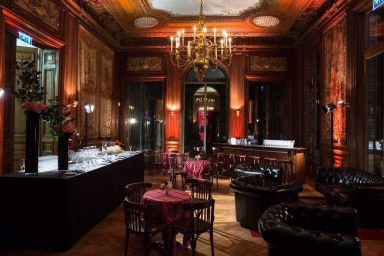 salon hotel particulier paris hotel Salomon de Rothchild paris 8 france padam padam soirée des années 20 agence evenementielle wato we are the oracle events