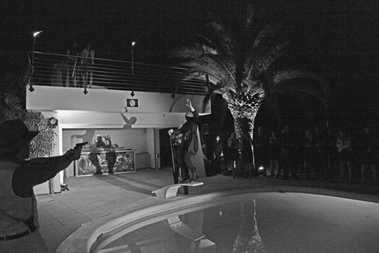 soirée insolite seminaire immersif seminaire exceptionnel Villa Oxygene Vallauris villa piscine Cannes toit arrondi Nuxe agence wato we are the oracle evenementiel events
