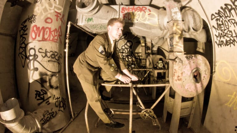 soldat machinerie bunker Abri Lefebvre abri anti atomique paris 15 e arrondissement France soirée exceptionnelle Victorious Shelter agence wato we are the oracle evenementiel events