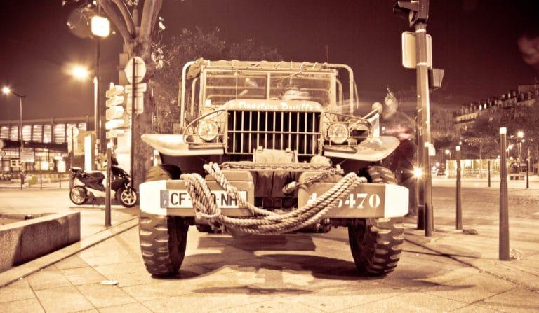 soldats blindé jeep véhicules militaires seconde guerre mondiale France soirée exceptionnelle Victorious Shelter agence wato we are the oracle evenementiel event